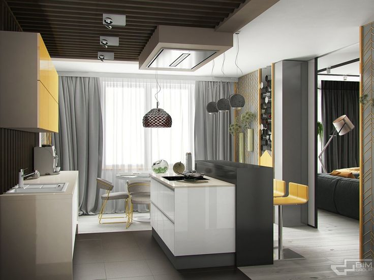 http://boomzer.com/modern-kiev-home-construct-creative-and-natural-stuff/white-countertops-kitchen-island-yellow-kitchen-cabinets-light-wooden-floor-modern-kitchen-hook-breakfast-bars-yellow-bars-chair-gray-curtains-white-transparancy-curtains-coffe-tools-visualizer-bim-gr/