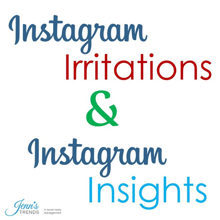 This round up of Instagram Insights and Instagram Irritations will have you on the fast track to proper Instagram etiquette and Instagram success!
