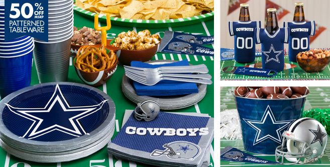 NFL Dallas Cowboys Party Supplies - Party City