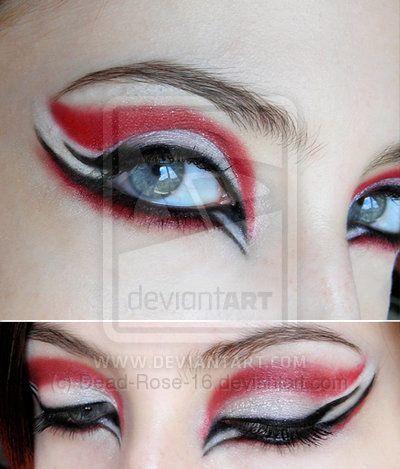 Rock 'n' Makeup: Maquiagens inspiração!