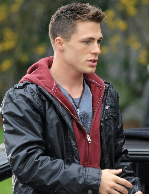 Colton Haynes as Roy Harper!!!!! I am Sooo happy! I love Red Arrow, he is just full of sass!!**