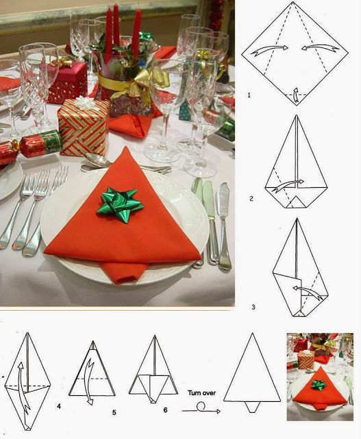 17 best images about pliages de serviettes on pinterest napkin folding fol - Pliage serviette chemise ...