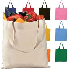 High Quality Promotional Canvas Tote Bags - TOB380 13x15  $1.17 ea