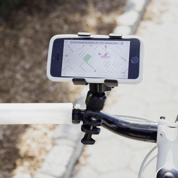 Kikkerland Smartphonehouder voor fiets