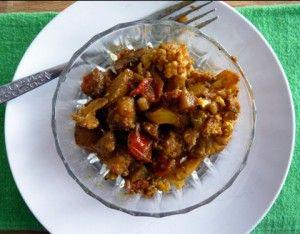 Chou-fleur et pommes de terre épicés à la mijoteuse #Recettes #MarathonMijoteuse #Mijoteuse