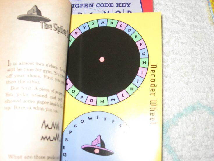 Book #1, Decoder Wheel.