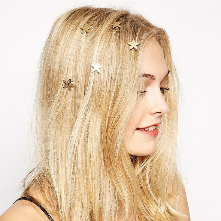 1 piece Alloy Star Style Spin Screw Hairpin Hair Clip Twist for Wedding Party Nightclub Hair Claws Accessories