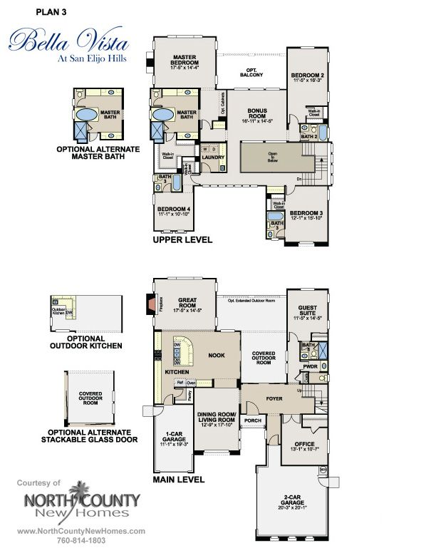 Bella homes floor plans
