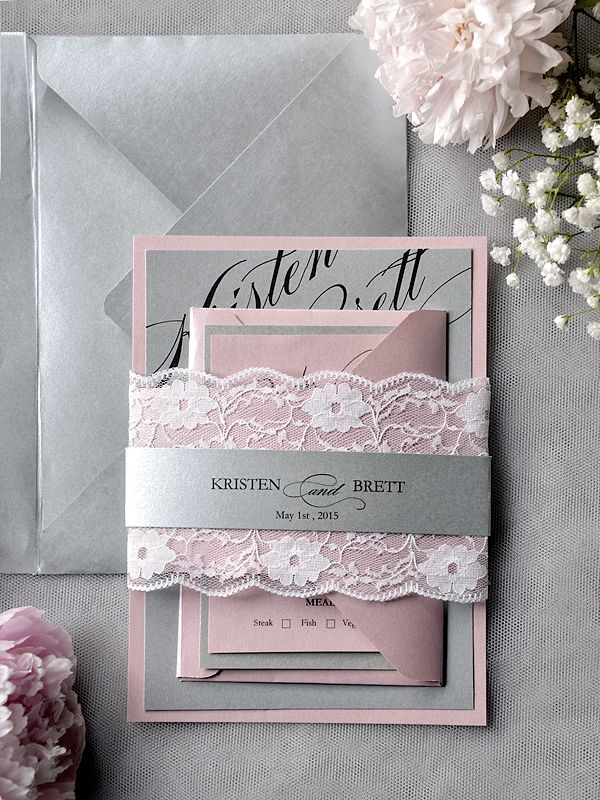 25 best ideas about Lace wedding invitations – Wedding Invites Lace