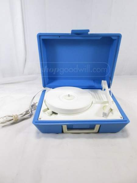 Vintage DeJay SP-20 Portable Record Player