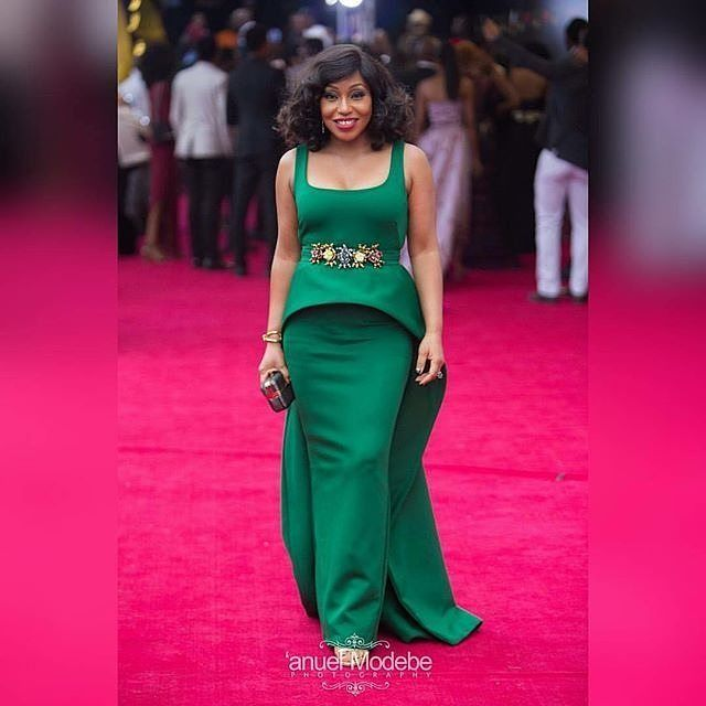 Its @ritadominic looking gorg #amvca2016 pic via @anuelmodebe @_anuel #dressinspiration #nigerianceleb #instapost #party