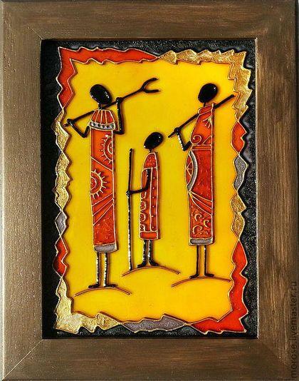 Этно ручной работы. Ярмарка Мастеров - ручная работа Африка в картинках. 3 в 1. Handmade.