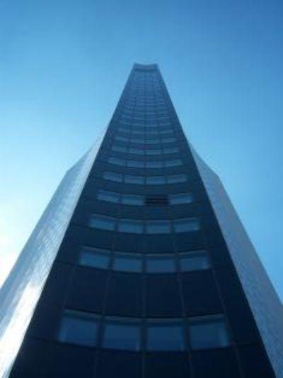 MDR-Turm Leipzig, Sehenswürdigkeit im Zentrum, am Augustusplatz in der Nähe der Oper