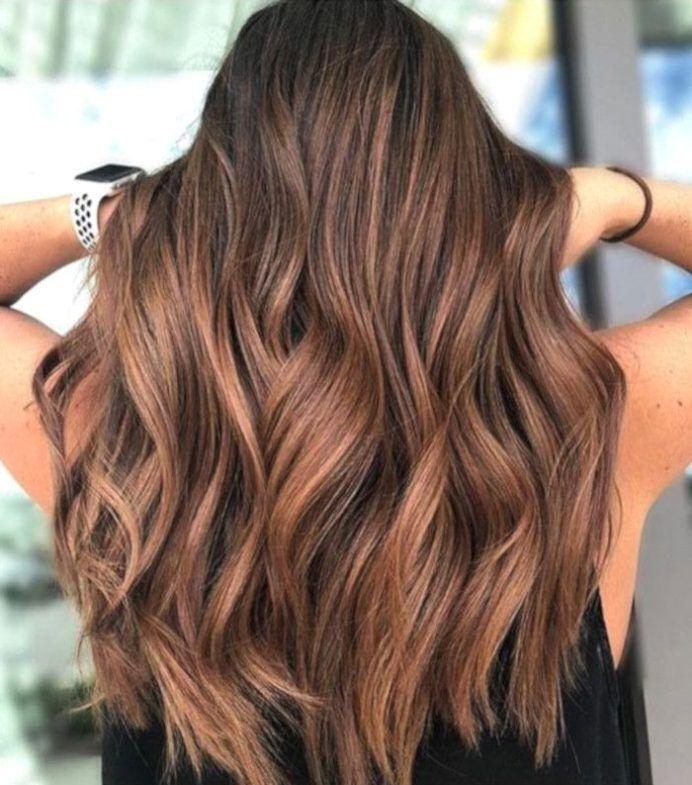 Die haarfarbe mit zimtgewürzen ist der schönste trend für ...