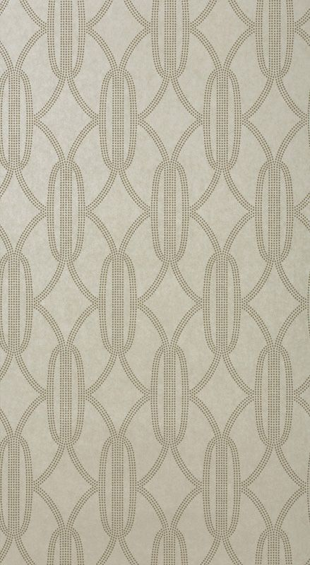 Charleston Pearls Wallpaper Champagne 802 by Catherine Martin by Mokum