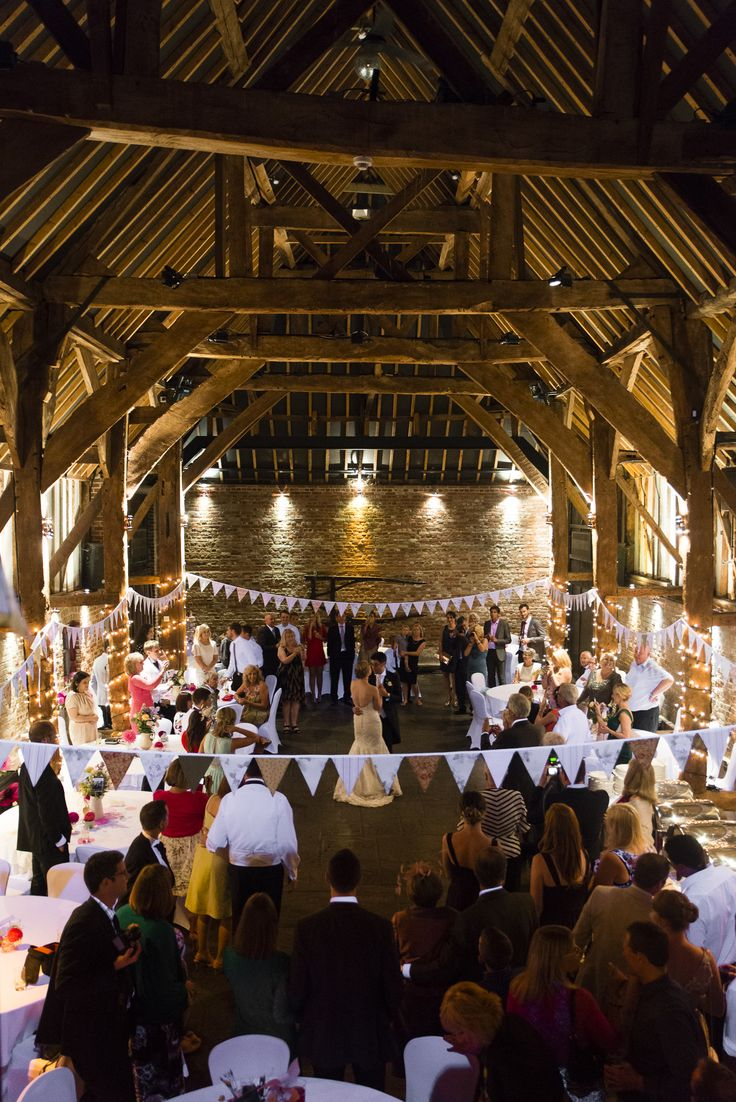 First Dance at Cooling Castle Barn in