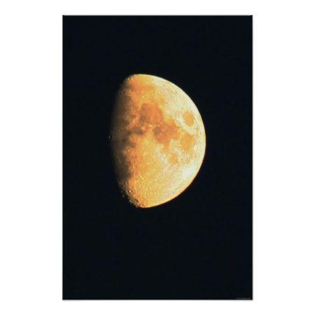 Big Old Moon Print