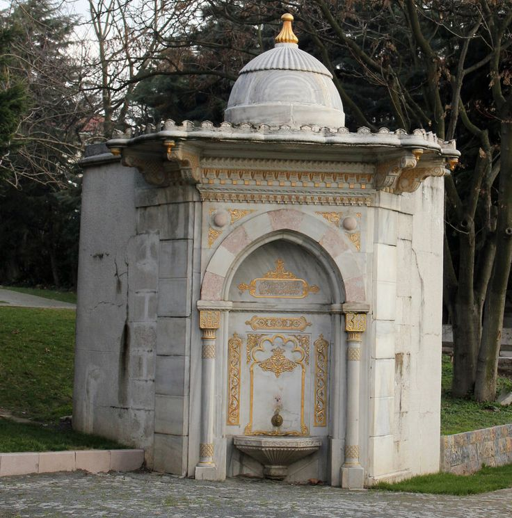 Ottoman Fountain 2 by CananStock