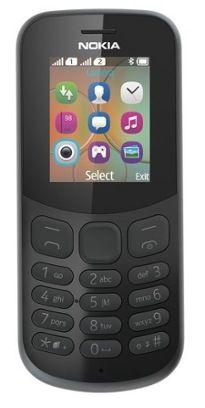 Nokia 130 SS 2017 Čierny