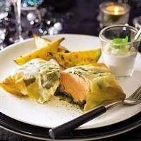 Zalmhaasje in filodeeg recept - Feestelijk - Eten Gerechten - Recepten Vandaag