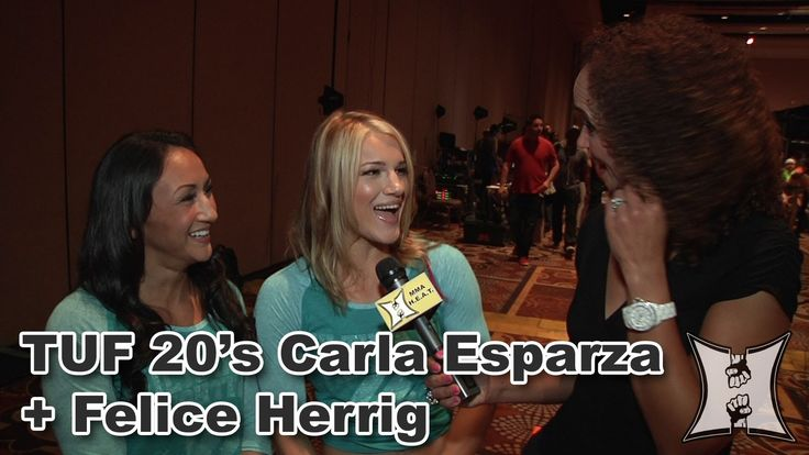 TUF 20's Felice Herrig + Carla Esparza Talk Tension + Targets in the TUF...