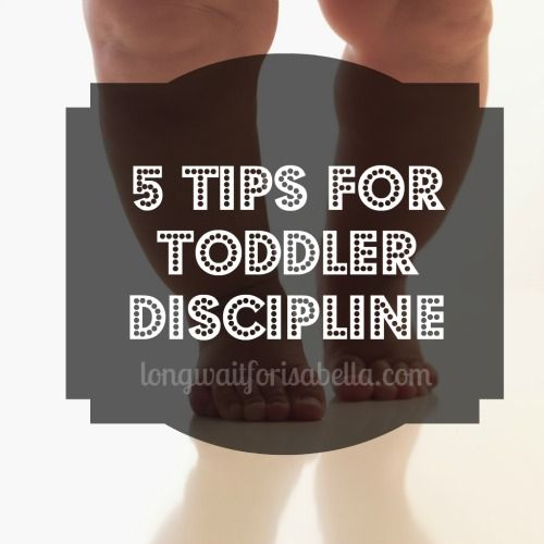 5 Tips for #Toddler Discipline #Parenting