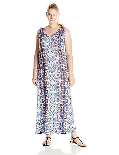 Karen Kane Women's Plus-Size Maxi Dress
