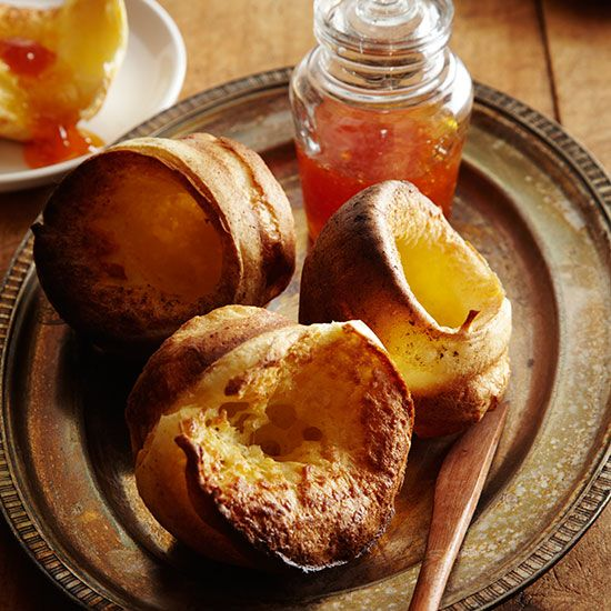 Orange Popovers | Grace Parisi loves popovers, but baking them can be tricky: They don't always rise as they should. For these foolproof ones, Grace adds a bit of baking powder to the batter and chooses to use a regular (not nonstick) muffin tin.
