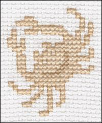 Crab Cross Stitch Pattern