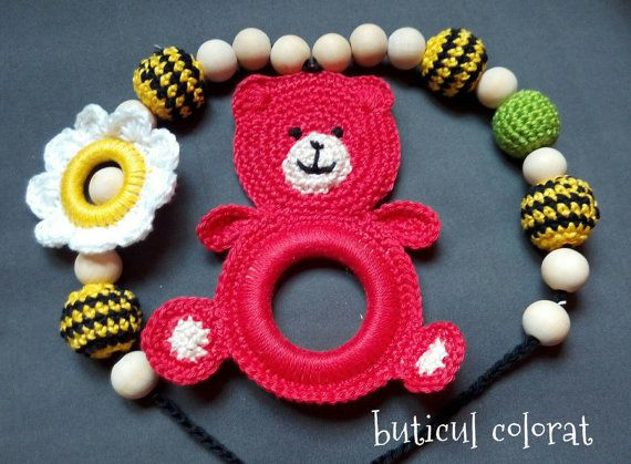 Check out this item in my Etsy shop https://www.etsy.com/listing/289448003/nursing-necklace-babywearing-teddy-bear