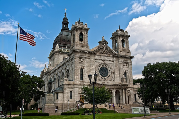 Basilica of St Mary, Minneapolis, MN | Places I've Been ...
