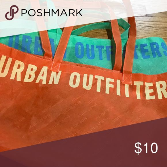Urban outfitters tote bags Perfect condition. Great for carrying anything! Urban Outfitters Bags