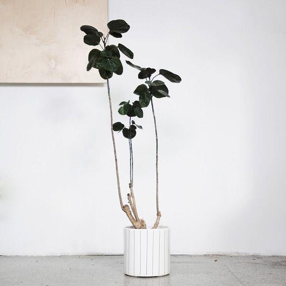 flowerpots large/ stripes - FOR.REST -