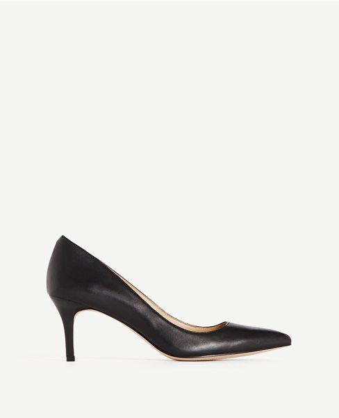 Eryn Leather Kitten Heels
