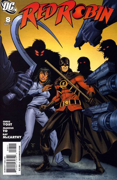 Marcus to comic Art   cover marcus to ray mccarthy price $ 2 99 u s characters red robin tim ...