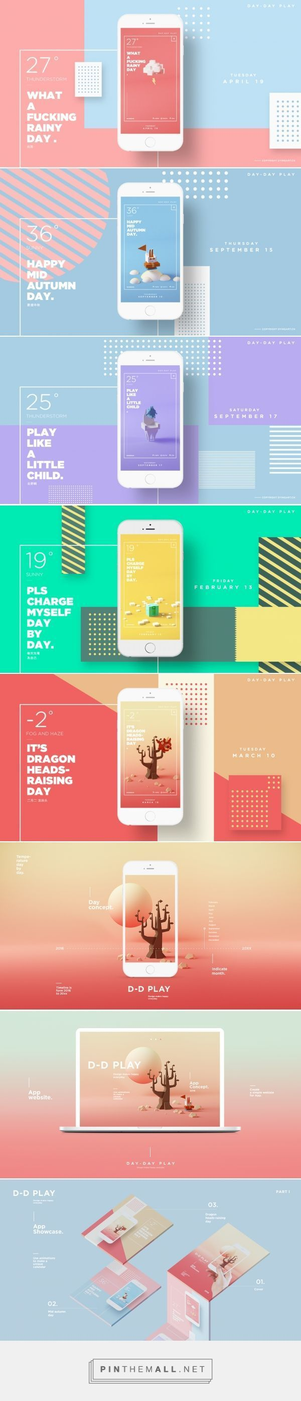 D-D Play - App Design | Abduzeedo Design Inspiration  Latest News & Trends on #webdesign | http://webworksagency.com