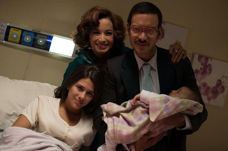 Pilar tiene a su hija a quien llama Helenita