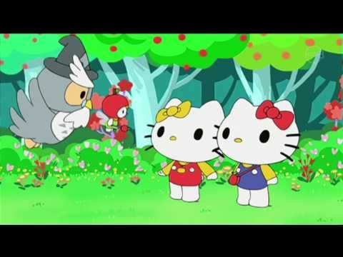 Hello Kitty Merkillinen Metsä Ja Lumottu Maa - YouTube