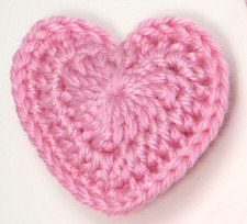 Hearts to crochet for Valentine garland.: Heart Patterns, Free Pattern, Free Crochet, Heart Crochet, Crochet Avec, Valentines Garlands, Crochet Heart, Crochet Patterns, Crochet