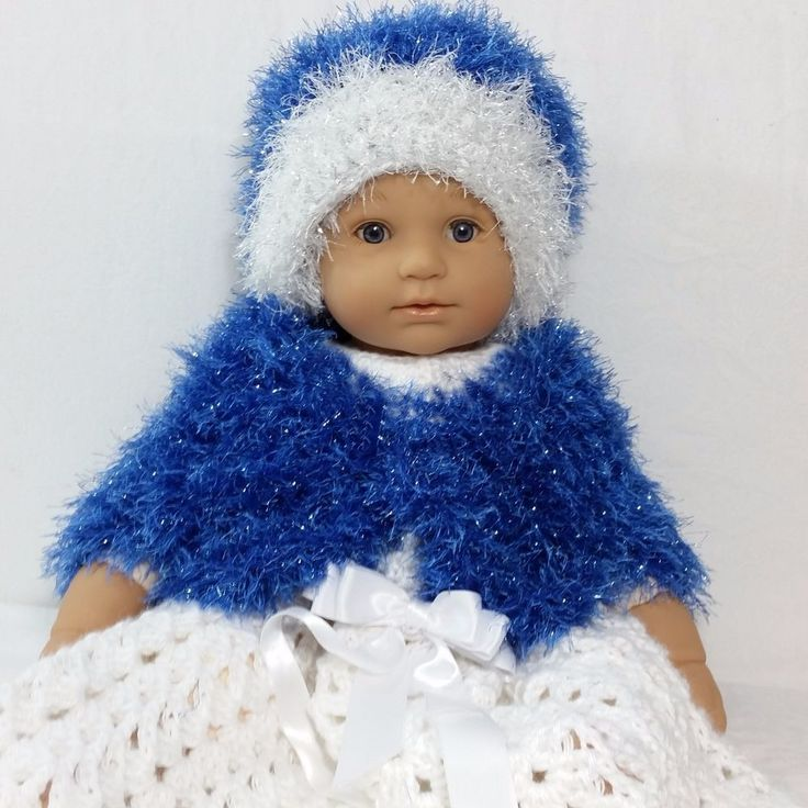 Disney Elsa Frozen Snow Princess Hat & Shrug Sweater 6 - 9 month Soft Fluffy Glitter Sparkle #Frozen #Elsa