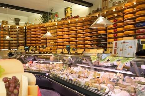 Van der Ley cheese shop Groningen Netherlands.