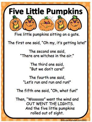 Kinder Alphabet: Fall Time!