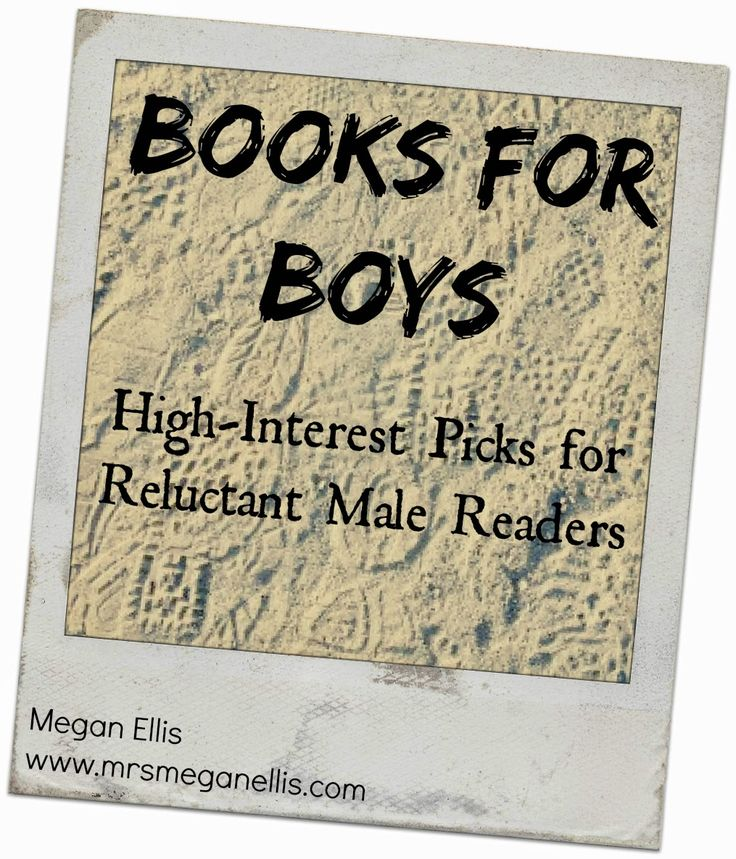 Books for Boys, or, Targeting Your Most Difficult Customer | Mrs. Megan Ellis