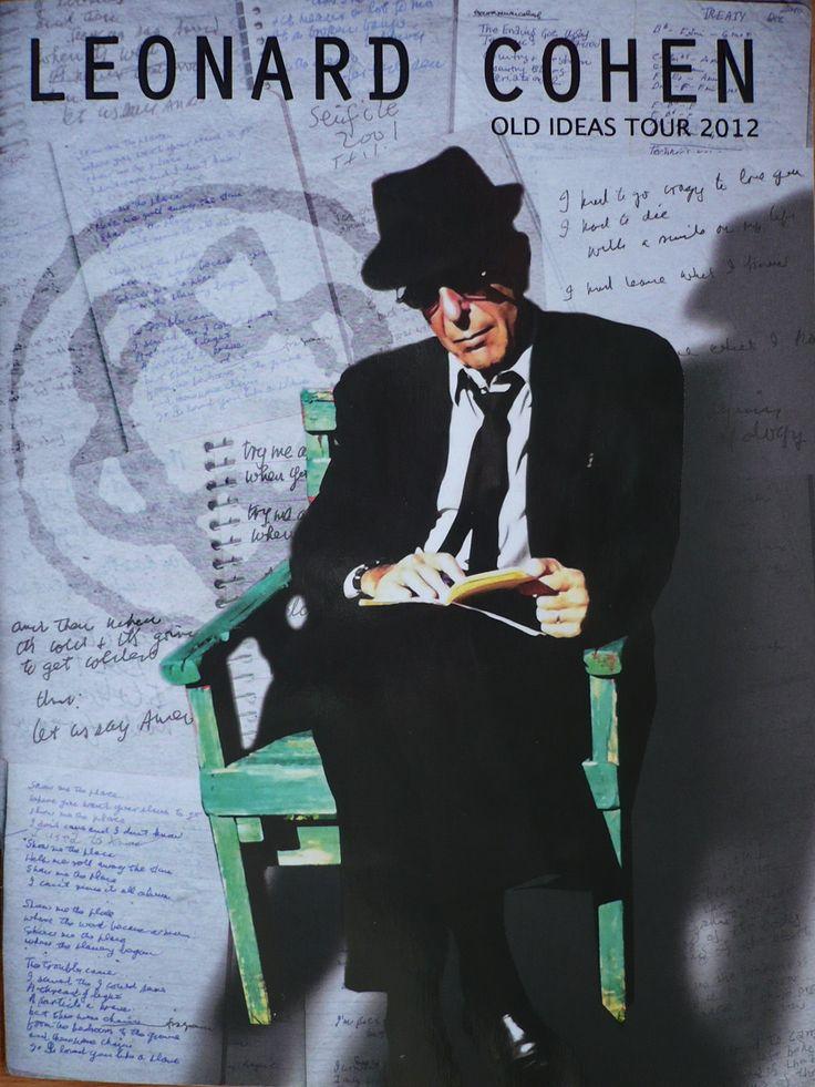 Leonard Cohen tour-boek, Gent 2012
