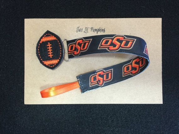 OSU Oklahoma State University Universal Pacifier by TwoLilPumpkins