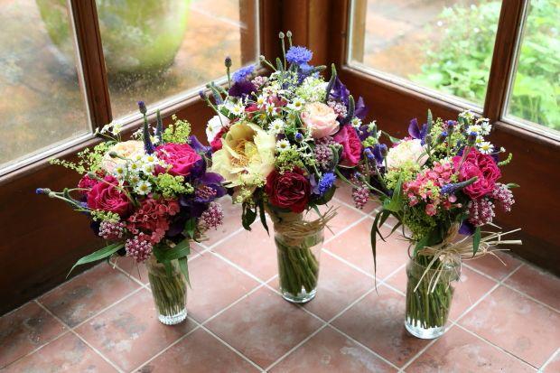 A Homegrown, Rustic Wedding