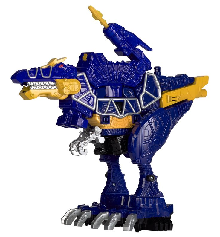 Power Rangers Dino Super Charge - Deluxe Spino Zord Action Figure. Sledge and his henchmen don't stand a chance against the Power Rangers Dino Super Charge Deluxe Zords; 2 ways to play. Power up with Dino Charger; insert the included Dino Charger to activate Battle Mode, then launch missiles to defeat the enemy. Each supersized Deluxe Zord is charged up and ready to fight; collect them all (each sold separately). Combine with Zord Builder items (each sold separately); create unique and...