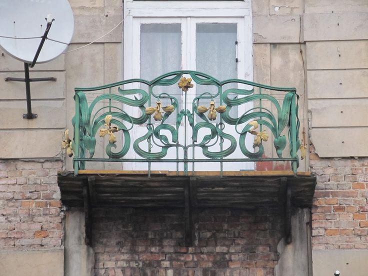 Znalezione obrazy dla zapytania balustrada secesyjna