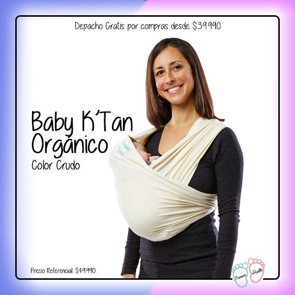 Anda a todos lados con la seguridad que tu bebé estará seguro, cerca y cómodo con Baby K'Tan http://www.primerahuella.cl/baby-ktan-organico-crudo