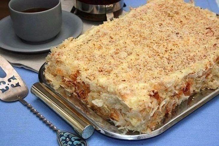 Торт «Наполеон» | Самые вкусные кулинарные рецепты